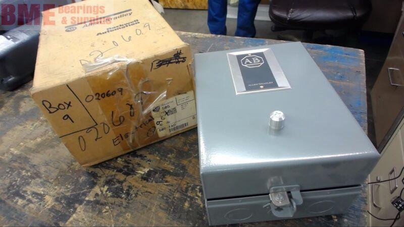 Allen Bradley 505-Tad Reversing Motor Starter,  Size 00, 120 Volt Coil