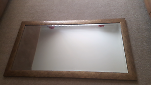 Mirror with marble effect frame Morayfield Caboolture Area Preview