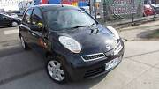 2008 NISSAN MICRA BLACK DRIVEAWAY NO MORE TO PAY Tottenham Maribyrnong Area Preview