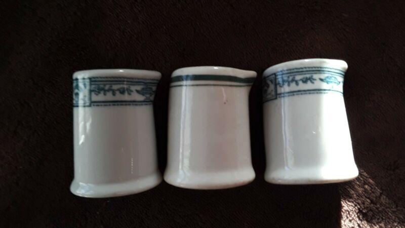Vintage ironstone individual creamers