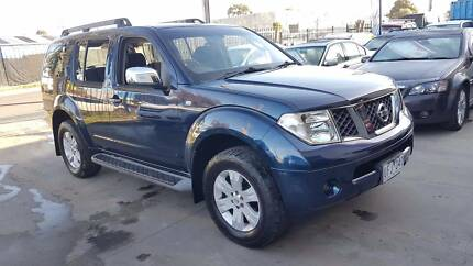 2005 Nissan Pathfinder ST-L Wagon AUTO TURBO DIESEL 7 SEATS Williamstown North Hobsons Bay Area Preview