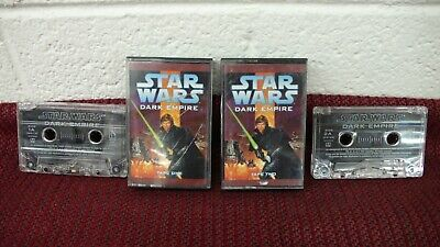 STAR WARS Dark Empire 2 Cassette Tape Audio Abridged Story Tom Veitch jedi sith Dark Empire Audio