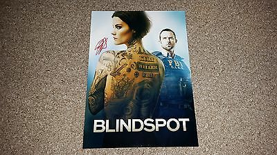 "BLINDSPOT PP SIGNED 12""X8"" A4 PHOTO POSTER TV SERIES JAMIE ALEXANDER"