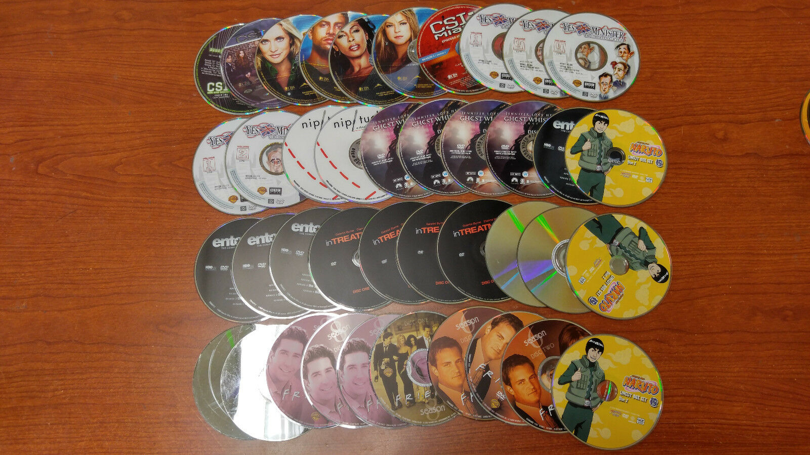 WHOLESALE LOT OF 20 USED DVD'S FOR BOX SETS SITCOMS SERIES SHOWS REPLACEMENTS