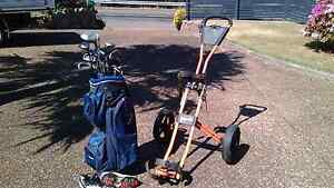 Golf clubs and trolley Floraville Lake Macquarie Area Preview