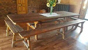 Solid Timber Dining Table Warwick Southern Downs Preview