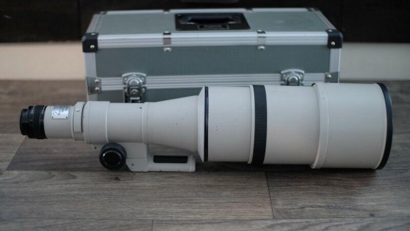 Canon FD 600mm f4.5