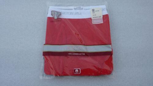 Sears Vintage Mens Underwear Oakton Ltd Low Rise Brief Red USA 100% Cotton M