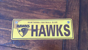 Hawthorn Souvenir Number Plate South Bunbury Bunbury Area Preview