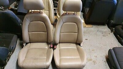 Mazda Mx5 MK2 Cream Leather seats removed from a Indiana model