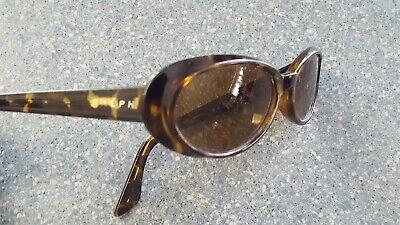 Ralph Lauren Bewitched Round Tortoise Brown Sunglasses Made in (Ralph Lauren Tortoise Sunglasses)