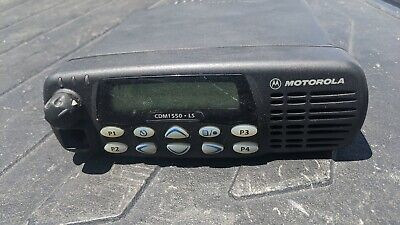 Motorola Cdm1550ls Mobile Radio 403-470mhz 25-40watts Pn Aam25rkf9du5an