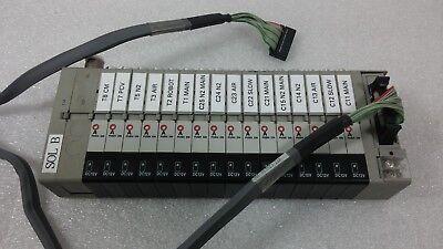 Ckd N3s010 16 Valves On A Manifold N4s0-t50 N4s0-q N4s0-e