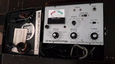 Vintage Sencore Cr133 Cathode Ray Tube Tester