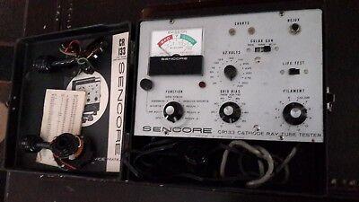 Vintage Sencore Cr133 Cathode Ray Tube Tester