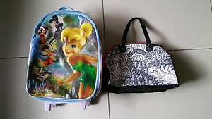 Kids Tinkerbell Suitcase On Wheels Jamboree Heights Brisbane South West Preview