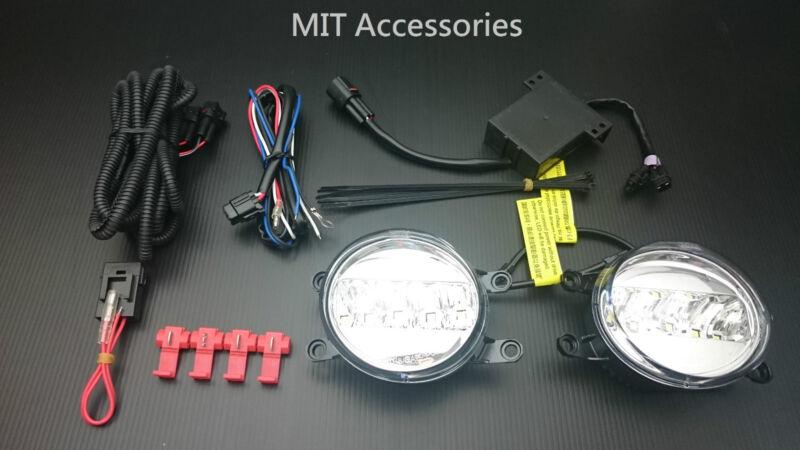 For LEXUS CT200h 2011-2014 LED DRL daytime running light fog lamp lights hybrid