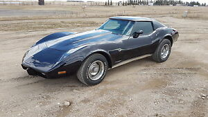 1977 T-top Corvette Ready For Summer Cruising. PRICE REDUCED.
