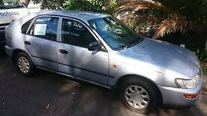 1999 Toyota Corolla Hatchback Corlette Port Stephens Area Preview