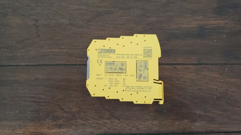 Phoenix Contact PSR-MS20-1NO-1DO-24DC-SC Safety Relay - New