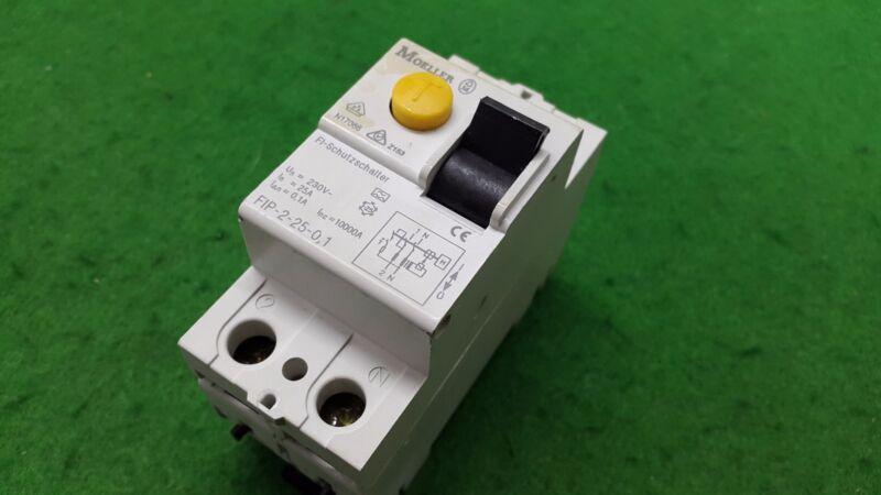 MOELLER FIP-2-25-0.1 Circuit Breaker 2 Pole, USED