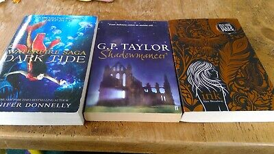 Young Adult book bundle Alice Broadway G P Taylor Jennifer Donnelly