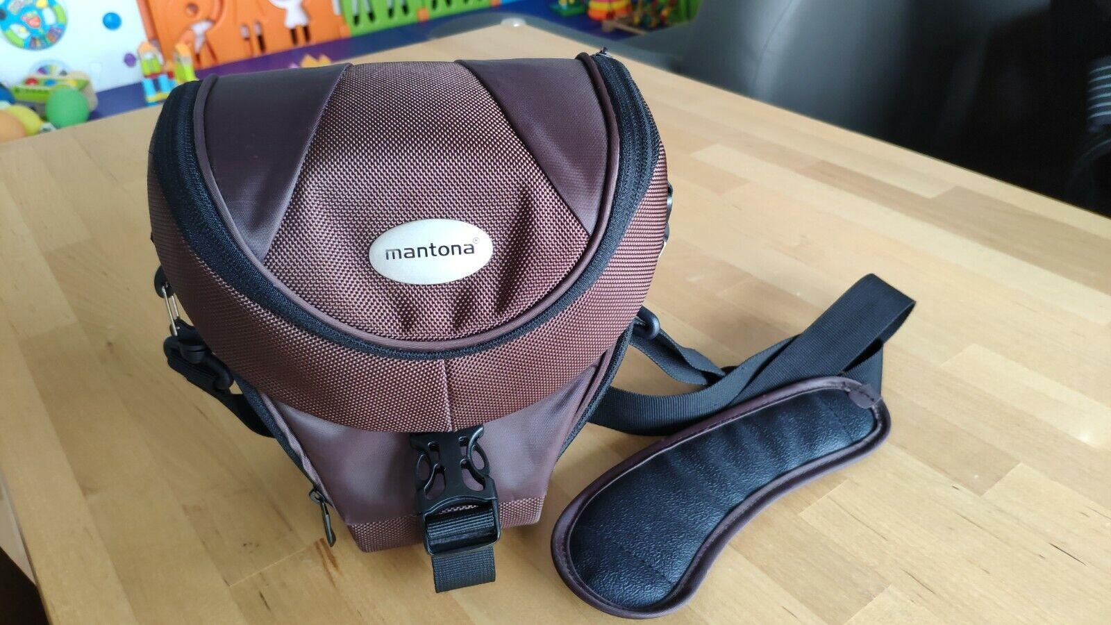 Mantona Colt DSLR Kamera Tasche für Spiegelreflex SLR Kompaktkamera Systemkamera