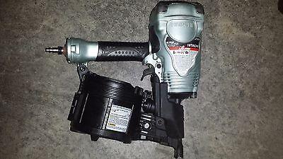 Hitachi 3-1/2 in. Coil Framing Nailer NV90AGS nail gun with warranty 1 Coil Framing Nailer