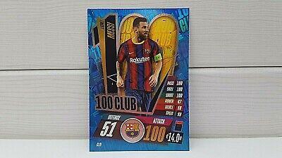 Match Attax - 20/21 - Lionel Messi - FC Barcelona - Club...