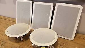 Surround sound wall & ceiling speakers Castle Hill The Hills District Preview