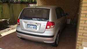 Hyundai Getz Auto 2004 Como South Perth Area Preview