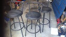 3 swivel bar stools Nowra Nowra-Bomaderry Preview