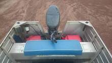 stessco tinny, 40hp 4 stroke yamaha, registered trailer. East Arm Palmerston Area Preview