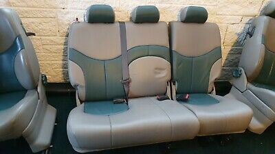 Land Rover Freelander mk1 3 Door Leather Seats with Hardware and Trim. Collect