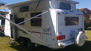 Caravan Jayco 2004 heritagepop top 19.5 foot dual axel immaculate Port Macquarie Port Macquarie City Preview