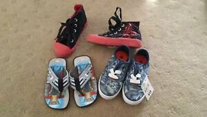 3 x Boys shoes Brand new Size 10, one pair is Star Wars
