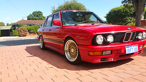 1987 BMW E28 M535i Belmont Belmont Area Preview