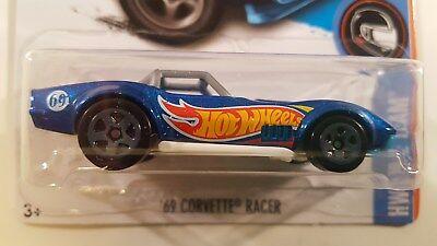 Hot Wheels 2017 - '69 Corvette Racer (Blue) HW Race Team Q Case #352