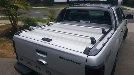 Ford Ranger Wildtrack mountain top roof racks