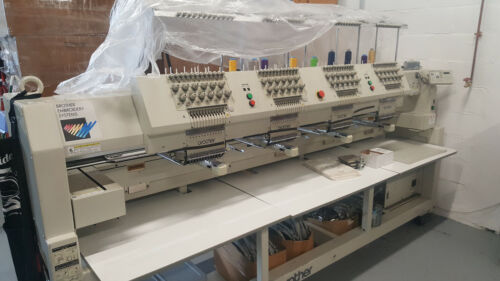 BROTHER 4 HEAD - 12 NEEDLE / 12 COLOR / EMBROIDERY MACHINE / USED