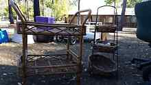Baskets, Trolleys, 3 Tier Stand with Baskets North Maclean Logan Area Preview