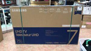 Téléviseur Samsung 75'' 4K & Smart NEUVE **Xpert Liquidateur