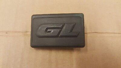 VW GOLF JETTA MK2 GL FRONT WING INDICATOR BLANK BADGE GL 191853688Q