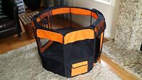 soft portable dog playpen