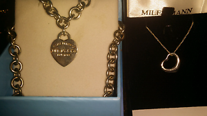 Tiffany & co 925 Sterling Silver Necklaces Make an offer Clearing Valley View Salisbury Area Preview