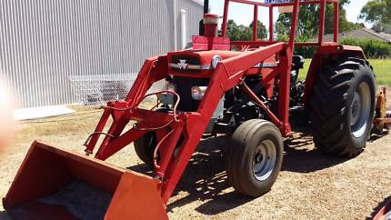 Massey Ferguson 188 Tractor with front end loader Good Condition Eden Hill Bassendean Area Preview