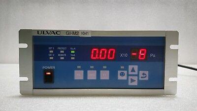 Ulvac Used Gi-m2 Ionization Vacuum Gauges Conrtoller
