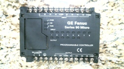 GE FANUC IC693UAA003RP1 SER. 90 MICRO PROGRAMMABLE CONTROLLER -FREE SHIPPING