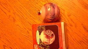 Hallmark Keepsake Ornament