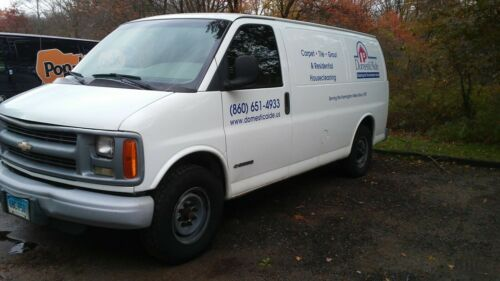 Carpet Cleaning Van & Truck Mount Unit with Equipment & Tools